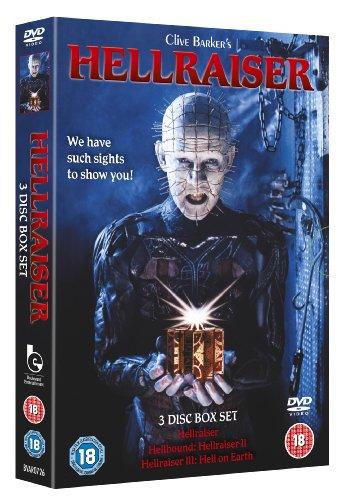 Hellraiser 1-3 Boxset [DVD] [1987] [Reino Unido]