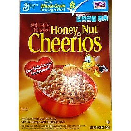 ハニーナッツチュリオ Honey Nut Cheerios 12.25OZ(347g)並行輸入品