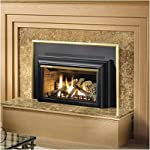 "Direct Vent Fireplace Insert Trim Kit: Up to 20.5""Hx35.75""W Painted Textured Satin Black from Napoleon"