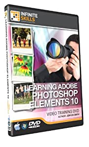 Photoshop Elements 10 Training Video - Tutorial DVD (PC and Mac)