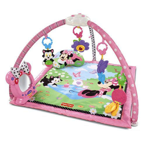 Fisher Price Minnies Twinkling Tea Party Activity Play Gym