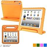 Étui enfant en orange Cooper Cases (TM) Dynamo pour iPad 2/3/4 + protecteur d'écran gratuit (léger, non toxique mousse EVA, design résistant, protection supplémentaire, support libre)
