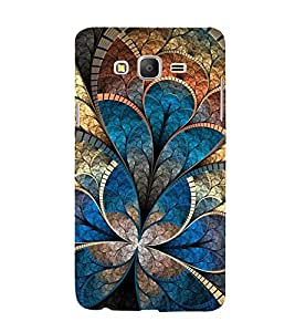 Snapdilla Unique Colourful Animated Floral Classic 3D Superb Stylish Cell Cover for Samsung Galaxy On5 Pro