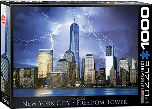 EuroGraphics New York World Trade Center Jigsaw Puzzle (1000-Piece) (Puzzle Center 1000 compare prices)
