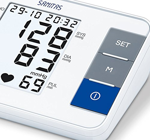 Sanitas SBM 38 Oberarm Blutdruckmessgerät - 4