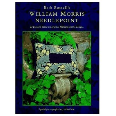 William Morris Needlepoint (Hardback)