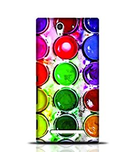 Stylebaby Watercolor Paints In A Box Sony Xperia C3 New PhoneCase