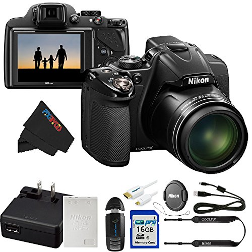 Nikon COOLPIX P530 16.1 MP CMOS Digital Camera with 42x Zoom NIKKOR Lens