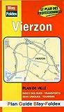 echange, troc Plans Blay Foldex - Plan de ville : Vierzon (avec un index)