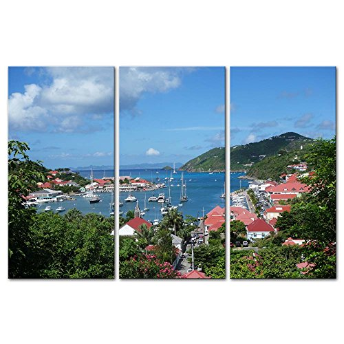 3-pieces-modern-canvas-painting-wall-art-the-picture-for-home-decoration-gustavia-harbor-st-barths-f