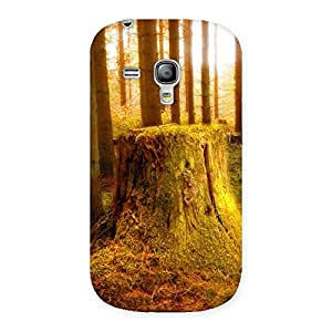 Delighted Tree Trunk Print Back Case Cover for Galaxy S3 Mini