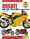 img - for Ducati 600, 620, 750 & 900 2-valve V-Twins '91 to '05 (Haynes Service & Repair Manual) book / textbook / text book