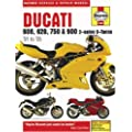 Ducati 600, 620, 750 & 900 2-valve Service and Repair Manual: 1991 to 2005 (Haynes Service and Repair Manuals)