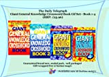 The Daily Telegraph Giant General Knowledge Crosswords Book Gift Pack / Collection - Set includes 4 books : Giant General Knowledge Crossword Book 1 2 3 and 4 (RRP: £23.96) Over 200 of the best knowledge crosswords from The Daily Telegraph