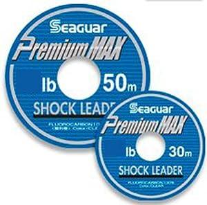 クレハ(KUREHA) シーガー ショックリーダー Premium MAX 30m 8lb