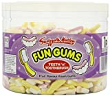 Swizzels Matlow Fun Gum Tubs Teeth & Toothbrush (3 x 600)