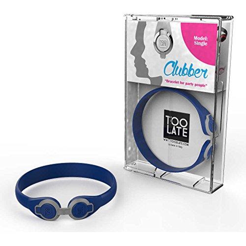 bracciale unisex gioielli Too late Clubber trendy cod. 8052745222362