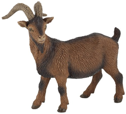 Papo Brown Billy Goat Toy Figure