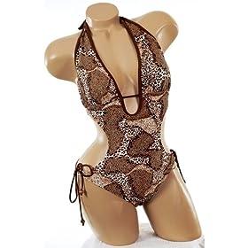 Paris Hilton Leopard Monokini
