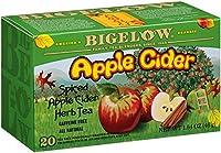 Bigelow Apple Cider Herbal Tea, 20-Count Boxes (Pack of 6)