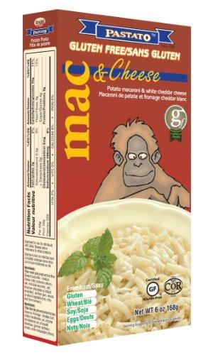 Pastato Potato Mac and White Cheddar Cheese (Orangutan), 6-Ounce (Pack of 6)