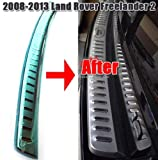 Car Rear Bumper Sill Protector Cover for 2008 2009 2010 2011 2012 2013 Land Rover Freelander 2