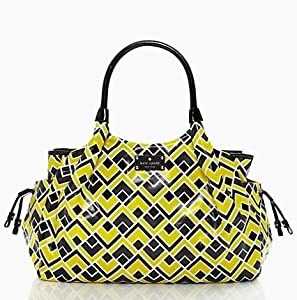Kate Spade Stevie Fabric Firefly Baby Bag / Diaper Bag by Kate Spade