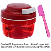 Tupperware Smart Ultimo Chopper (251) With Tupperware Mini Spatula