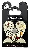 Disney Pin - Valentine - Minnie and Mickey - Happy Place