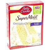 Betty Crocker Super Moist French Vanilla Cake Mix 15.25 oz