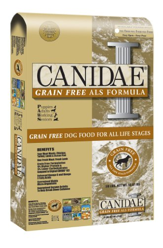Canidae Dry Dog Food for All Life Stages, Grain Free Chicken, Turkey, Lamb and Fish, 30-Pound