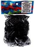 Twistz Bandz Latex Free Rubber Band Refill C-clips - Black
