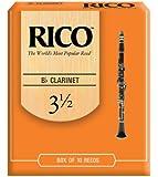RICO リード Bbクラリネット 強度:3.5(10枚入)アンファイルド RCA1035