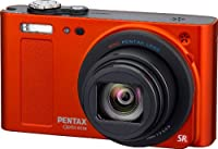 Pentax Optio RZ-18 16 MP Digital Camera with 18x Optical Zoom - Orange by Pentax