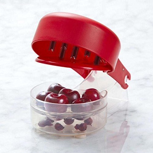 Cherry Olive Pitter, Cherry Seed Stone Remover, Removal Bone 6 Cherries Fast Enucleate Removal of Bone Kitchen Gadget Fruit Tool (Fruit Ripener compare prices)