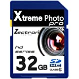 Zectron Pro Memory Card for Samsung NX300 20.3MP NX SMART Digital Camera 32GB Class 10 High Speed SDHC card