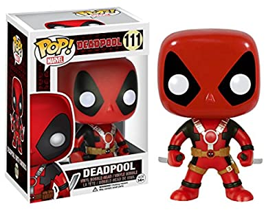 Funko POP Marvel: Deadpool Two Swords Action Figure by Funko