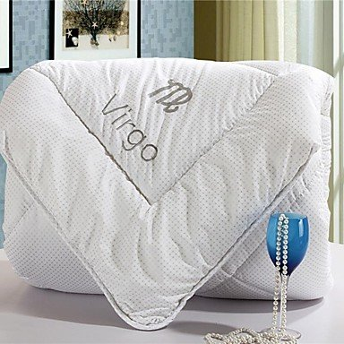 juanjuan Comforter Winter Quilt Keep Warm Thickening Cotton Quilts with Virgo Pattern
