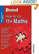 Bond How To Do 11+ Maths