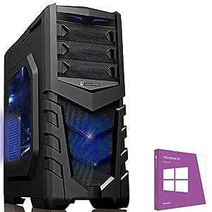 OCHW FX-6300 Gaming PC with WINDOWS 8 (AMD FX-6300 6 Core Bulldozer CPU, AMD Radeon R7 240 2GB Graphics Card, 1TB Hard Drive, 8GB DDR3 Memory, HDMI 1080p, USB 3.0) (pre-installed with Windows 8 Home Premium 64 bit OS)