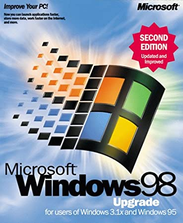 Microsoft Windows 98 Second Edition Upgrade