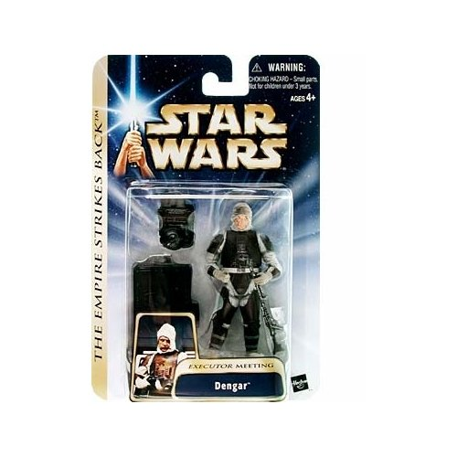 Star Wars Saga 2004 Empire Strikes Back #17 Dengar Executor Meeting