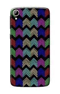 HTC 828 Designer Case Kanvas Cases Premium Quality 3D Printed Lightweight Slim Matte Finish Hard Back Cover for HTC 828