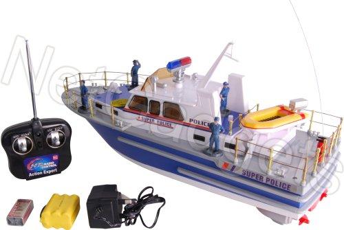 2873 1/20 Scale Super Police Boat RC Remote Control Boat