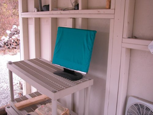 Dust Cover For Flat Screen TVs (24 Inch, Teal)