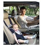 【ネイビーボーダー】チャイルド保護 簡易型 チャイルドシールド 持ち運びに便利 簡単 脱着 チャイルドシート 子供 座席 どこでもチェアシート ベビーチェア