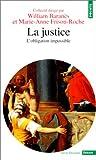 echange, troc Baranes (Dir.)/Friso - La Justice