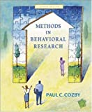 Methods in Behavioral Research with PowerWeb (0072942754) by Paul C. Cozby