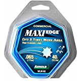 """0,065 """"Arnold Maxi - Kanten Commercial Grade Serrated Trimmerfaden Kunststoffklein Dispenser"""