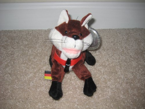 Coca-Cola Bean Bag Plush Fannie the Fox representing Germany - 1